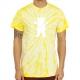Camiseta Grizzly OG Bear Tie Dye - Amarelo