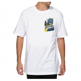 Camiseta Spitfire 20/20 Logo - Branca