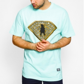 Camiseta Grizzly Team Ring - Verde