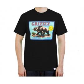 Camiseta Grizzly The Sales Agent - Preta