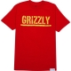 Camiseta Grizzly T-Puds Stamp - Vermelha