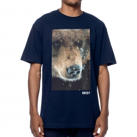 Camiseta Grizzly Grizzled - Azul