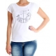 Camiseta Feminina Element Fox - Branca