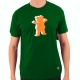 Camiseta Grizzly OG 3D Bear - Verde