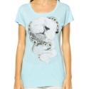Camiseta Element Feminina Fox Dreams - Azul