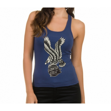 Regata Feminina Santa Cruz Eagle - Azul