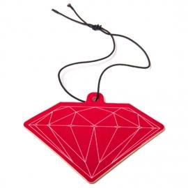 Air Freshener Diamond - Vermelho