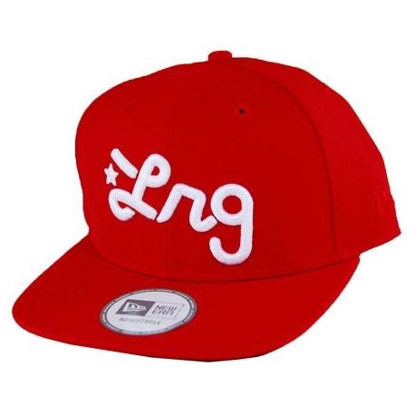 Boné LRG New Era Logo Snapback - Vermelho