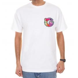 Camiseta Grizzly G Logo Tie Dye M - Branco