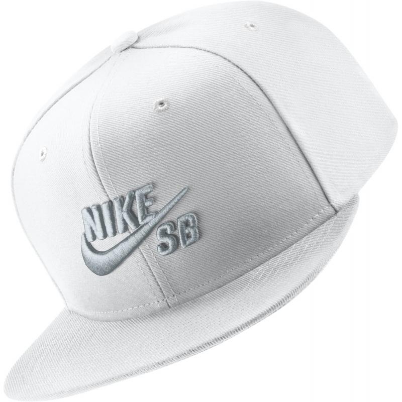 Boné Nike SB Icon Pro - Branco - Ultra Séries Skate d874223841b