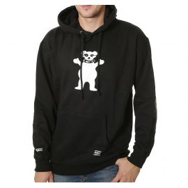 Moletom Grizzly Canguru OG Bear Fiend Club - Preto