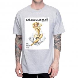 Camiseta Diamond Centerford - Cinza Mescla