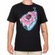 Camiseta Santa Cruz Screaming Ham - Preto