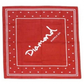 Bandana Diamond Supply Co - Vermelha