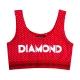 Top Feminino Diamond  - Vermelho