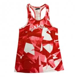 Regata Feminina Diamond Simplicity - Vermelha