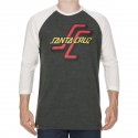 Camiseta 3/4 Santa Cruz OGSC - Chumbo