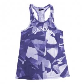 Regata Feminina Diamond Simplicity - Azul