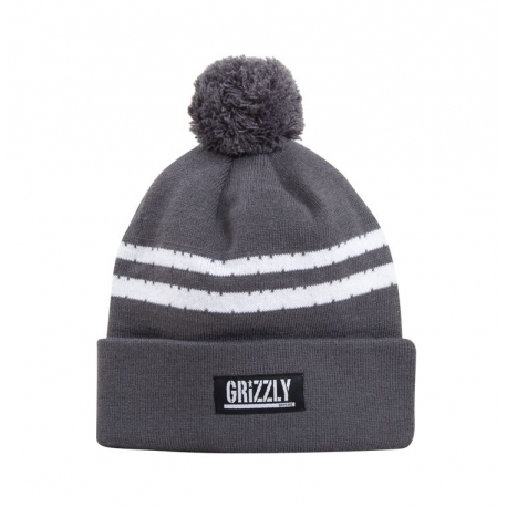 Touca Grizzly Striped - Cinza