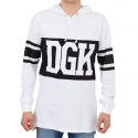 Camiseta Manga Longa DGK Arena - Branca