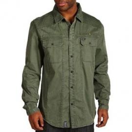 Camisa Botão LRG Rewound - Verde