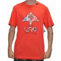 Camiseta LRG Floral Tree - Coral