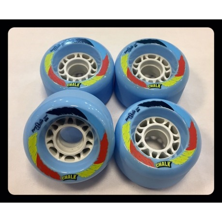 Roda Face Skate Chalk Blue 70mm86a