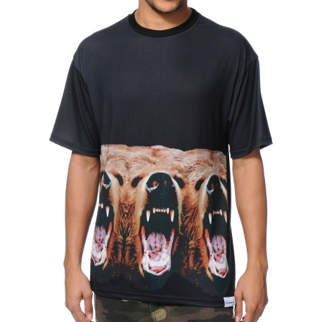 Camiseta Diamond x Grizzly Yosemitrip - Preto