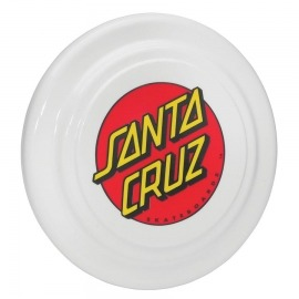 Frisbee Santa Cruz Dot Classic White