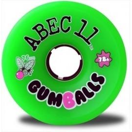 Roda Abec 11 Gum 1balls 76mm 75a