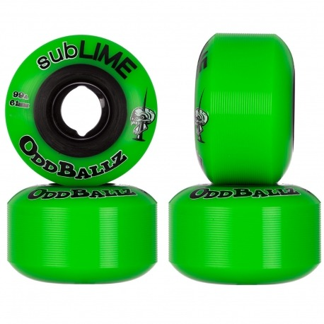 Roda SubLIME ODD Ballz 61mm 99a
