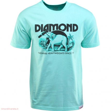 Camiseta Diamond Hardware - Verde