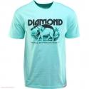 Camiseta Diamond Hardware Heavywights - Verde Água