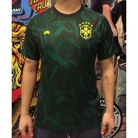 Camisa Nike SB Official Brasil Green
