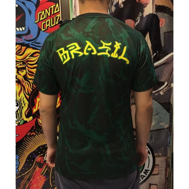 Exquisito Isaac Acompañar  Camisa Nike SB Official Brasil Green - Ultra Séries Skate
