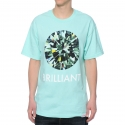 Camiseta Diamond Brilliant - Verde Água