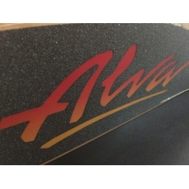 "Shape Tony Alva  RE-ISSUE 1970 8"" X 30"" ORANGE"