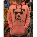 Moletom Grizzly Canguru Coolin Hoody Salmon