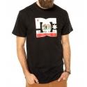 Camiseta DC Shoes Cali Athete - Preto