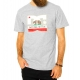 Camiseta DC Shoes  Cali Athlete - Cinza