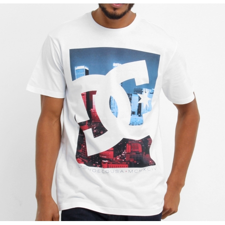 Camiseta DC Shoes Curbate - Branca