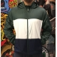 Jaqueta Nike SB Dry Hoodie Stripe Green/White