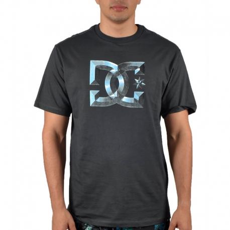 Camiseta DC Shoes Chromo - Preta