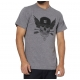 Camiseta DC Shoes Flight Skull - Cinza