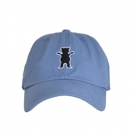 Boné Grizzly Patch Dad Hat Blue