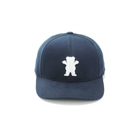 Boné Grizzly Baseball 6 Panel Navy