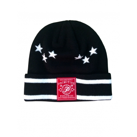 Touca Primitive Six Stars - Preto