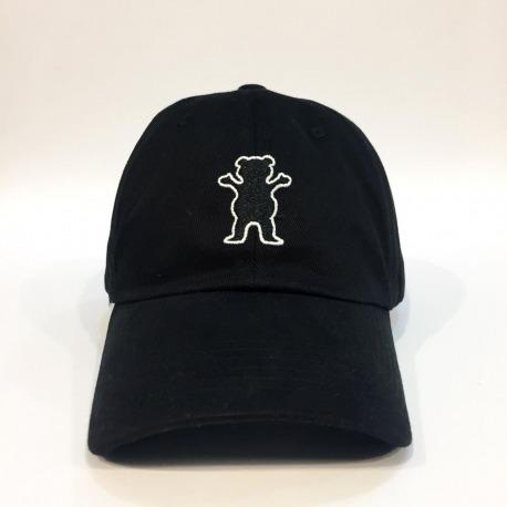 Boné Grizzly Logo Dad Hat Black