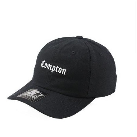 Boné Compton Dad Cap Black Starter