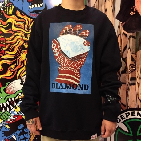Moletom Careca Diamond Ice Black